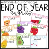 End of the Year Awards Customizable and Editable