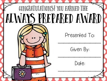 End of the Year Awards~ Editable!
