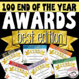 End of the Year Awards Editable Best Edition