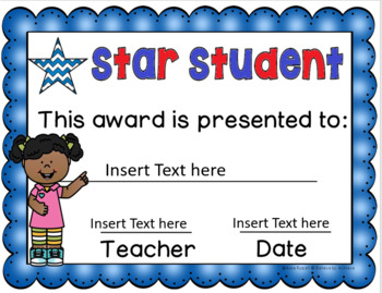 End of the Year Awards - Editable  (Color and Black and White Versions)