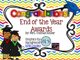 End of the Year Awards {Elementary} EDITABLE!
