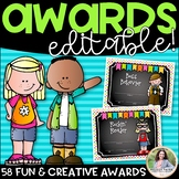 End of the Year Awards {Editable: Add Students' Names!}