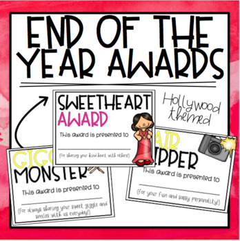 End of the Year Awards - Hollywood Themed