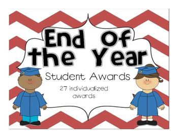 End of the Year Awards - Individual