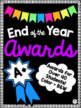 End of the Year Awards - NO Prep Fun!