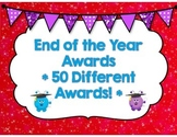 End of the Year Awards (Over 50 Awards!)