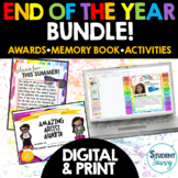 End of the Year Activities |  Digital Memory Book | End of Year Awards