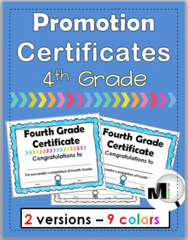 End of Year Awards – Promotion Certificates – Grade 4