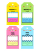 End of the Year Awards {Ready Made} Candy Bar Tags!