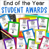 End of the Year Awards- Set of 42 Technology Themed Class Awards