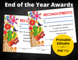 End-of-the-Year Awards   Spanish   PDF