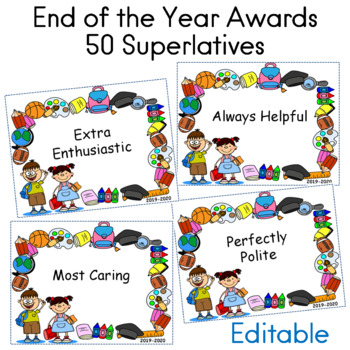 End of the Year Awards  50 Superlatives