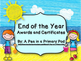 End of the Year Awards and Certificates