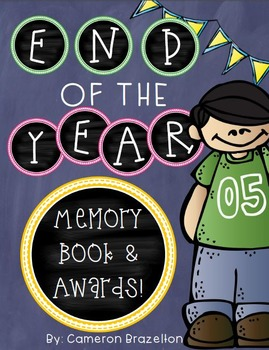 End of the Year Awards and Memory Book