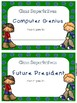 End of the Year Awards and Printable Activities - Grades 3