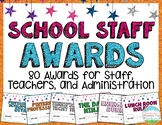 School Staff Teacher Awards