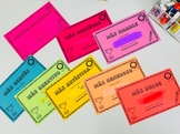 End of the Year Awards in Spanish! (Editable)