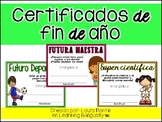 End of the Year Awards in Spanish (Version 2)
