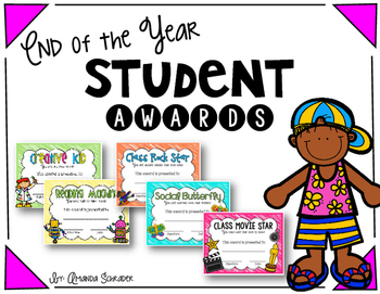 End of the Year Awards plus Bonus gift tags!