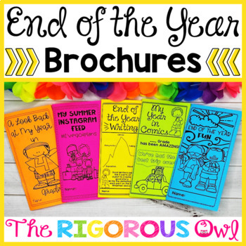 End of the Year BROCHURES
