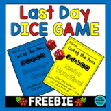 End of the Year BUNCO:  A Fun-Filled Dice Game
