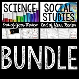End of the Year BUNDLE - Science and Social Studies