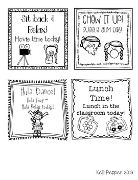 End of the Year Balloon Incentive Activity {Freebie!}