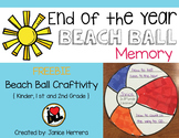 End of the Year Beach Ball Memory