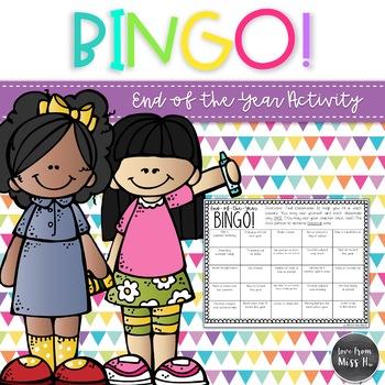 End-of-the-Year Bingo!