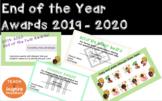 End of the Year Bitmoji Awards