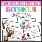 End of the Year Bitmoji Gift Tags