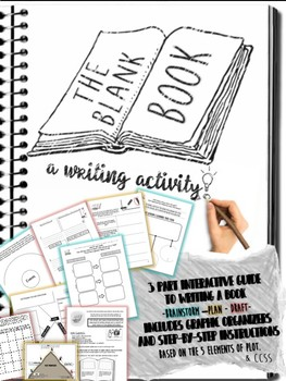 End of the Year Blank Book Activity