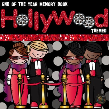 End of the Year Activities: Hollywood Themed Memory Book