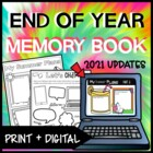 End of the Year Book- KEEP THEM BUSY!!!- Updated 3 pages added!