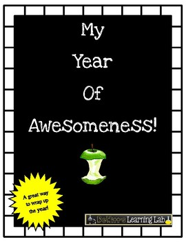 End of the Year Book (My Year of Awesomeness)
