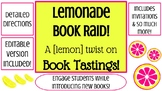 Book Tasting - Lemonade & Book Raid Party!