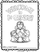 "End of the Year Activity:""Welcome to 1st Grade"" Book For Y"