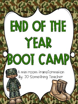 End of the Year Boot Camp