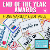 End of the Year Awards | Certificates | Printable & Digita