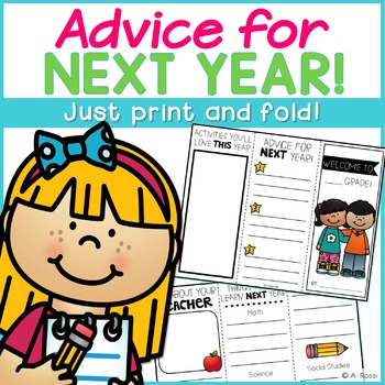 End of the Year Brochure {Advice from Students}