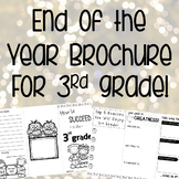End of the Year Brochure for 3rd Grade!