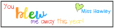 End of the Year Gift for Students- Bubble Labels
