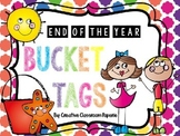 End of the Year Bucket Tags