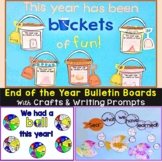 End of the Year Bulletin Board & Craftivities Kit - Beach