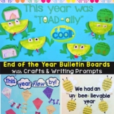 End of the Year Bulletin Board & Craftivities Kit - 3 Ideas (Frogs, Bees, Kites)
