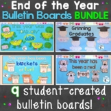 End of the Year Bulletin Board & Craftivities Kit Bundle 9 Craft & Display Ideas