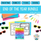 End of Year Bundle: Class Awards + Memory Book + Letters to Students & More!