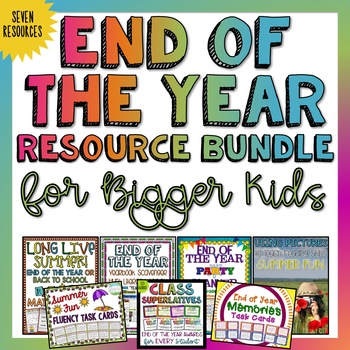 End of the Year Bundle | Distance Learning | Google Classroom