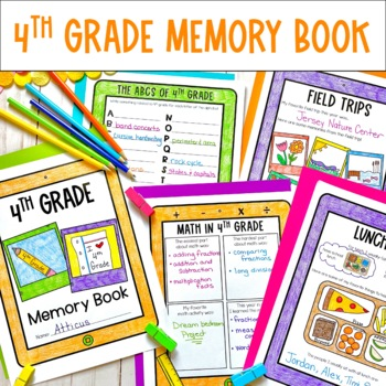 End of the Year Bundle- 4th Grade- Memory Book, Awards and Top Ten Lists