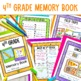 End of the Year Bundle- 4th Grade- Memory Book, Awards and